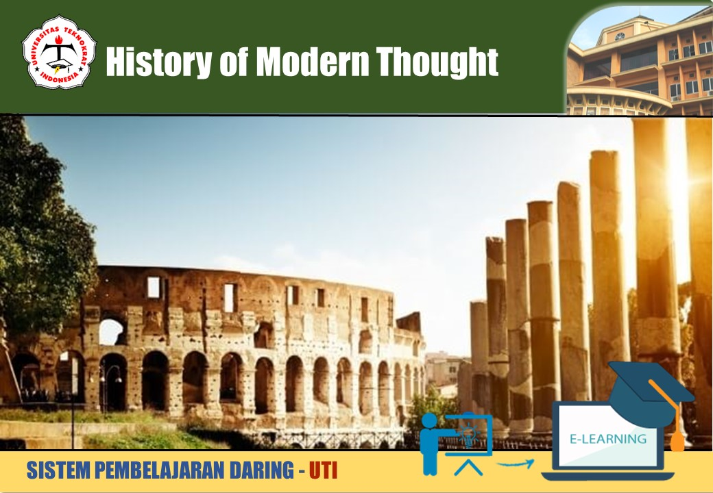 History of Modern Thought (2 SKS)